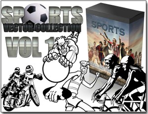 sports & fitness vector collection vol 1
