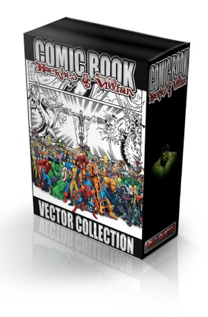 comicbook vector collection