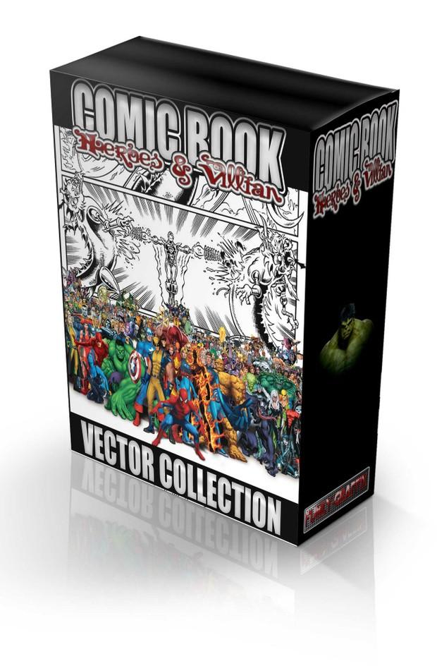 comicbook vector collection