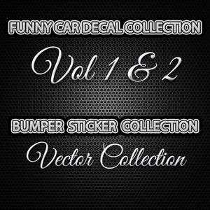 car decal vector bundle