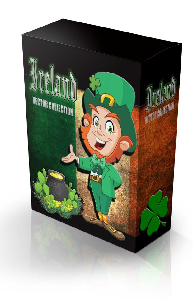 st patricks day vector collection