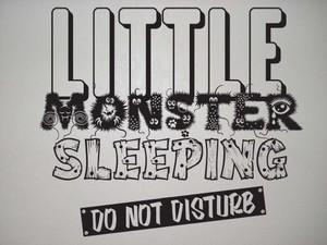 little monster vector wall art image