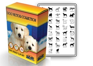 dog vector collection