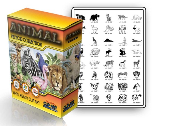 HUGE ANIMAL VECTOR COLLECTION