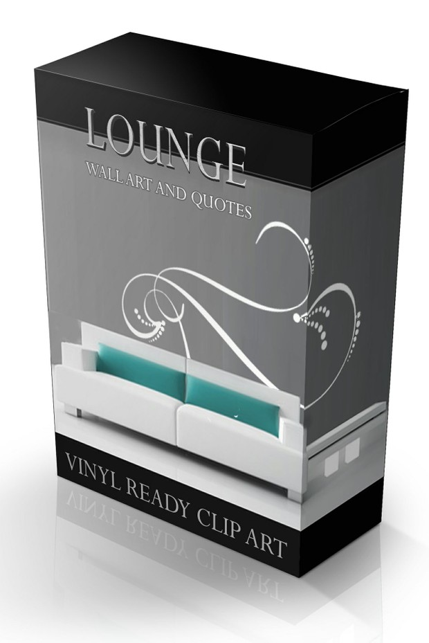 lounge wall art & quote vector collection