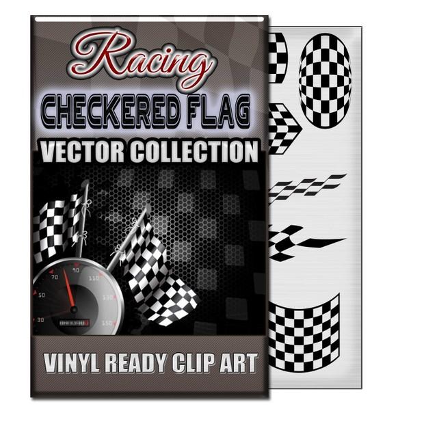CHECKERED FLAG VECTOR COLLECTION