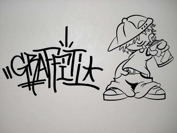 street art graffiti guy vector