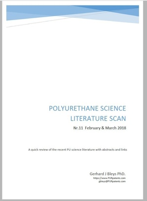 Polyurethane Science Scan Nr.11 - February & March 2018