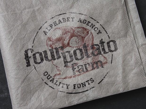 Four Potato Farm Font