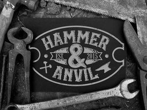 Hammer & Anvil Font