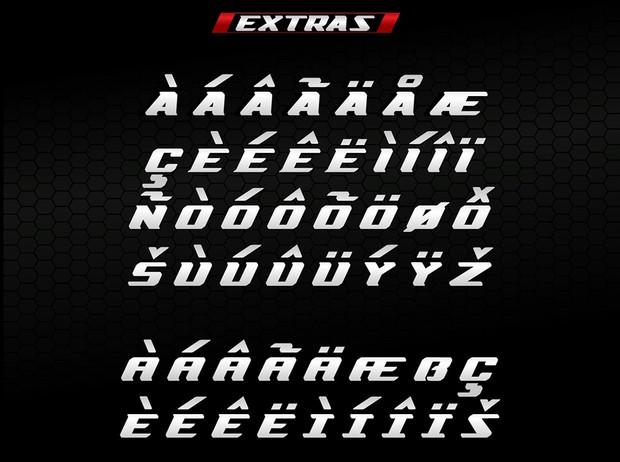 Zero2Sixty Font