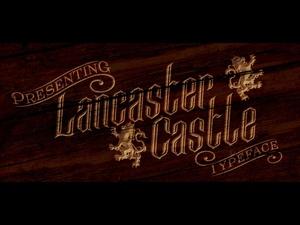 Lancaster Castle Font