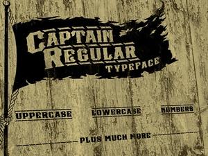 Captain Regular Font