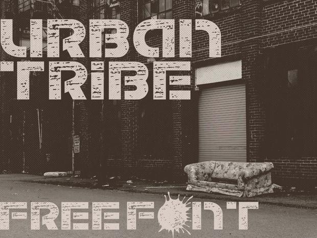 Urban Tribe Font