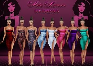 Luv Dresses+PSD (Sis3D).Chatty Only!!