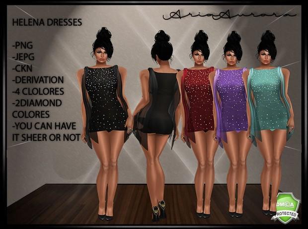 Helena Mini Diamond Dresses Resell Right!!