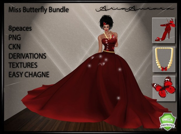 MISS BUTTERFLY BUNDLE,RESELL RIGHT TO 5 PEOPLE!!