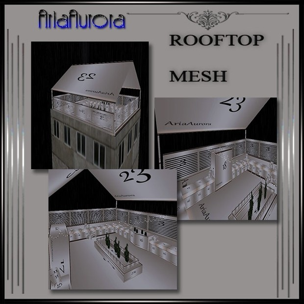 Rooftop Room Mesh.NO Resell!!
