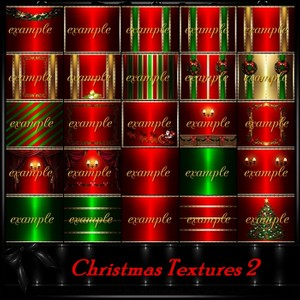 Christmas 2 Room Textures/ 40 Txt