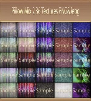 Pillow Mix Pack 2  /36 Textures