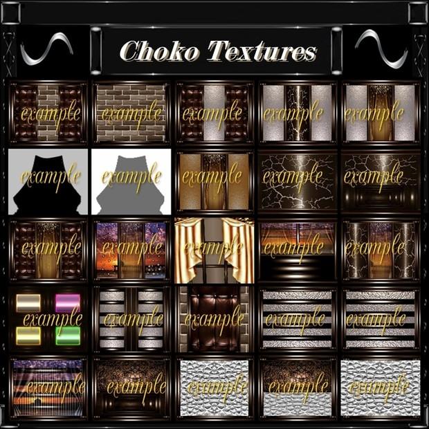 Choko Pack 62 Textures