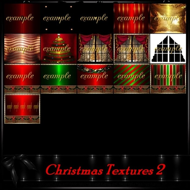 Christmas 2 Room Textures/ 40 Txt