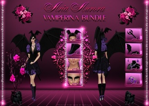 Vamperina Bundle/Resell Rights!