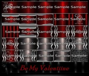 Be My Valentine Textures