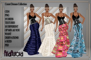 Ruffle Dresses Collection NO Resell!!