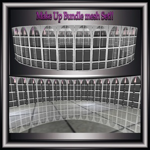 Make UP Mesh Bundle No Resell!!1 Room&16 Furniture Meshes!!!