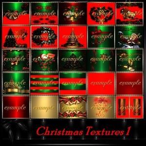 Christams Room Textures 1 /43 TXT