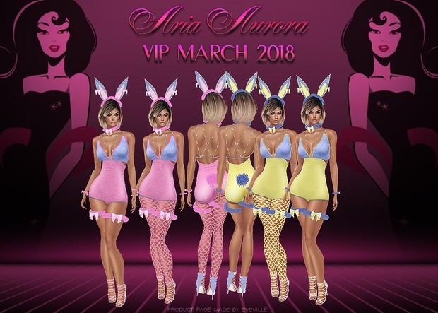 VIP March 2018 Collection,No Resell!!