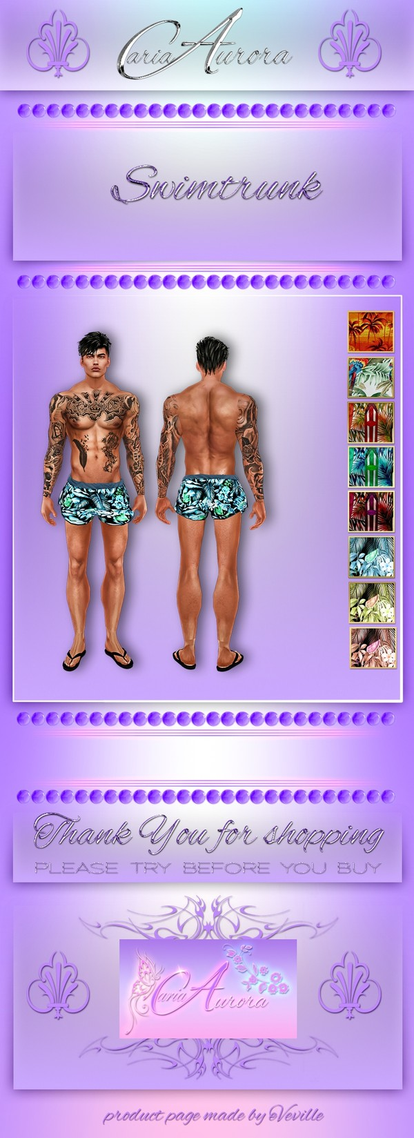 Male Swim Trunk No Resell!!