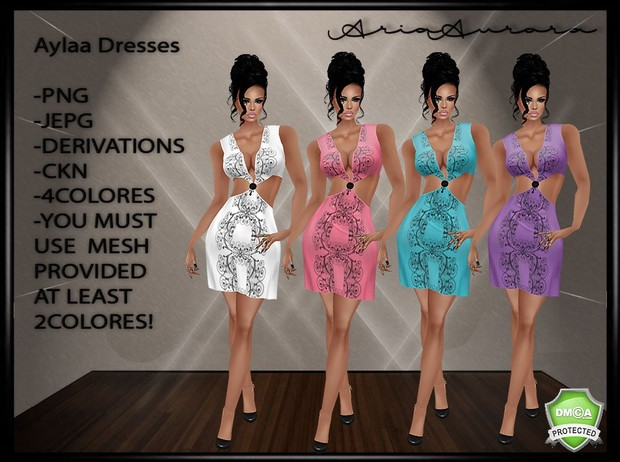 Aylaa Dresses Resell Right!!