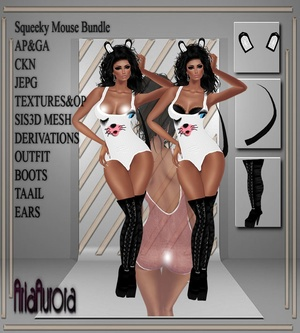 Squeeky Mouse Bundle NO Resell!!!