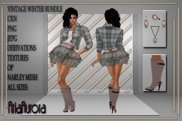 VINTAGE WINTER BUNDLE RESELL RIGHT!! ONLY TO 5 PEOPLE!!