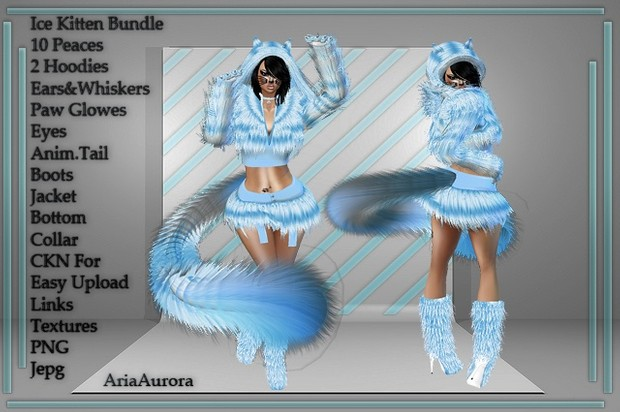 ICE KITTEN BUNDLE!! RESELL RIGHT LIMITED 5 PEOPLE!!