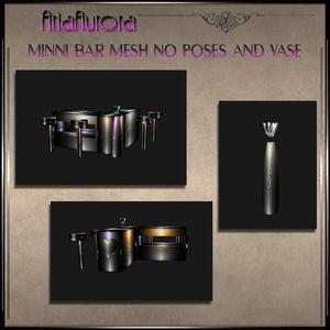 Mesh Valentine Mini Bar no pose+Vase.Resell Right!!