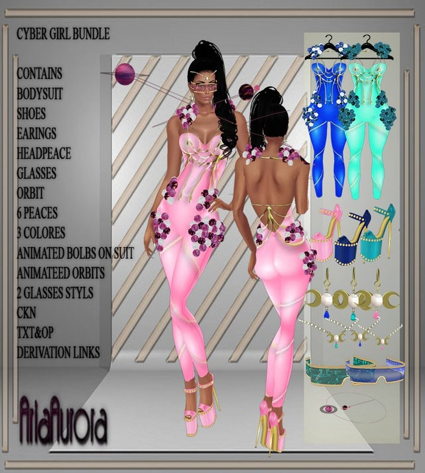 Cyber Girl Bundle Resell Right !! ONLY TO 5 PEOPLE!!