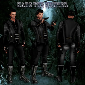 Hans The Hunter Bundle NO Resell!! Only 3 People!! 1/3