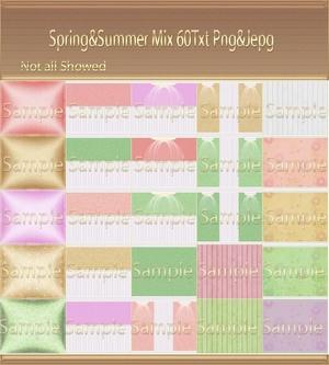 Spring&Summer Mix 60Txt
