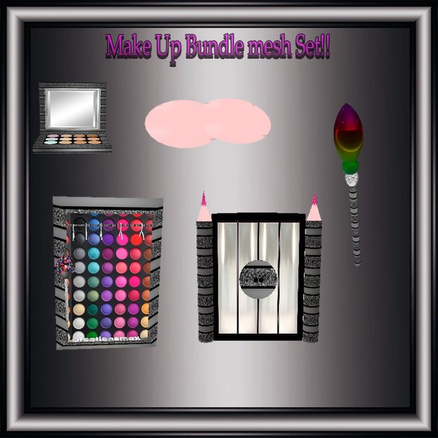 Make UP Mesh Bundle Resell Right Only to 5 People!!1 Room&16 Furniture Meshes!!!