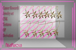 Cancer Research Jewelry Textures NO Resell