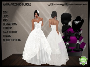 AMORA WEDDING BUNDLE,RESELL RIGHT 8 PEOPLE!!