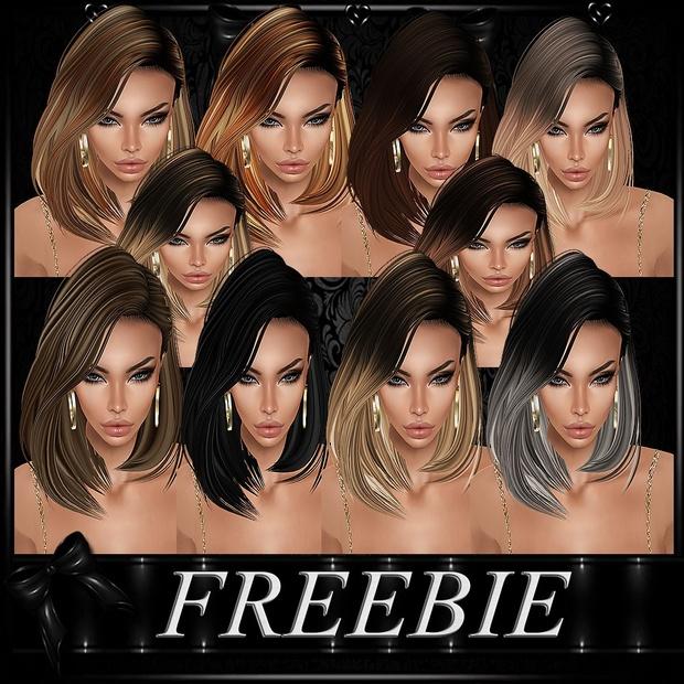 FREEBIE HAIRS 11 TEXTURES