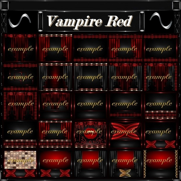 Vampire Red 66 Textures