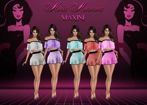 Maxine Outfits+PSD.NO Resell!!