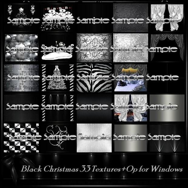 Black Christmas Room Texture Pack 33 Txt
