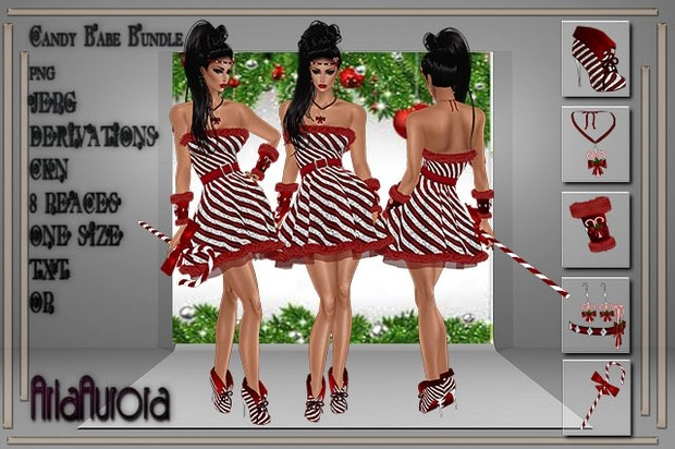 Winter Candy Babe Bundle ,Resell Right to 5 People!!