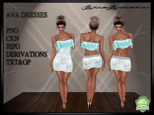 AVA DRESSES,NO RESELL!!